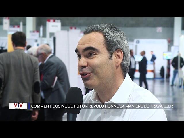 VIV Industrie - :Ce que l'usine du futur change pour les salariés et les managers