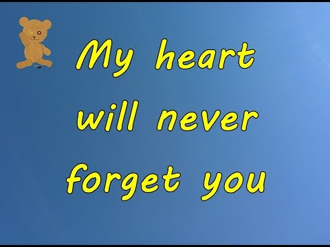 I am not forget you quotes