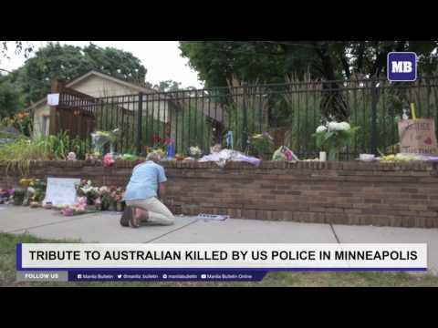 Tribute to Australian killed by US police in Minneapolis