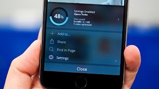 Phone Hacks: Save Data by Switching Browsers