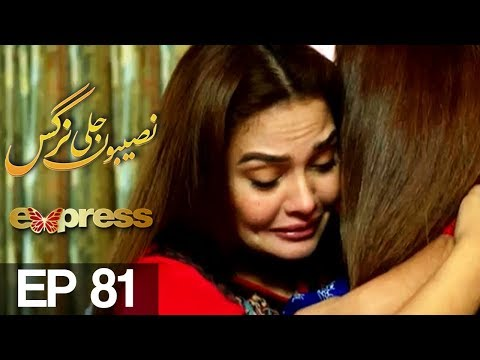 Naseebon Jali Nargis - Episode 81 - Express Entertainment
