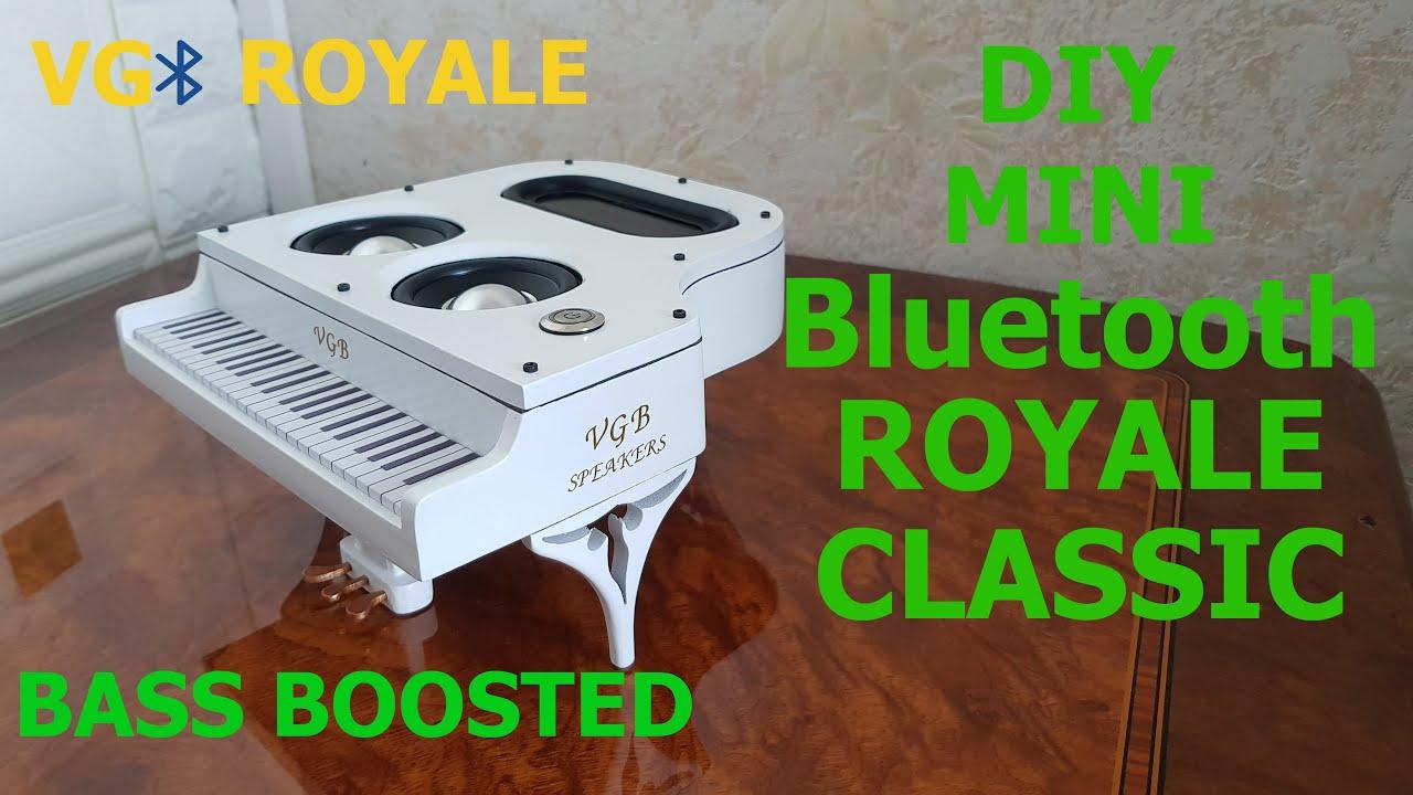 DIY Bluetooth Spreaker Mini Royale Classic |Beautiful and Powerful|