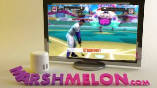 "Nicktoons MLB - Xbox 360 ""Monkey Thing = Strikeout King ! ! !"""