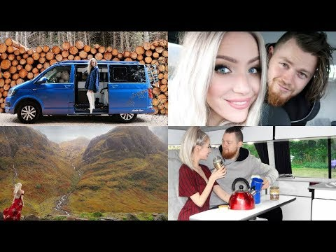 Scottish Highlands ROAD TRIP! | VLOG 12