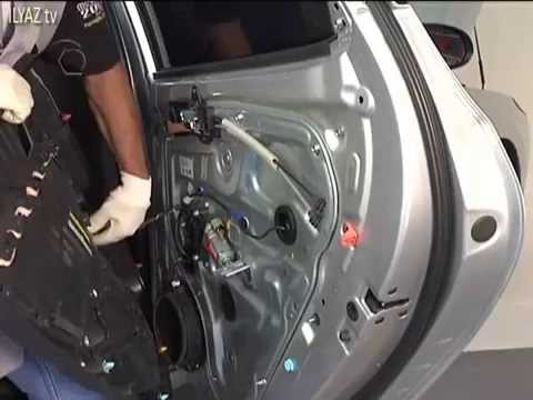 Hyundai I30 Rear Door Panel Removal Youtube