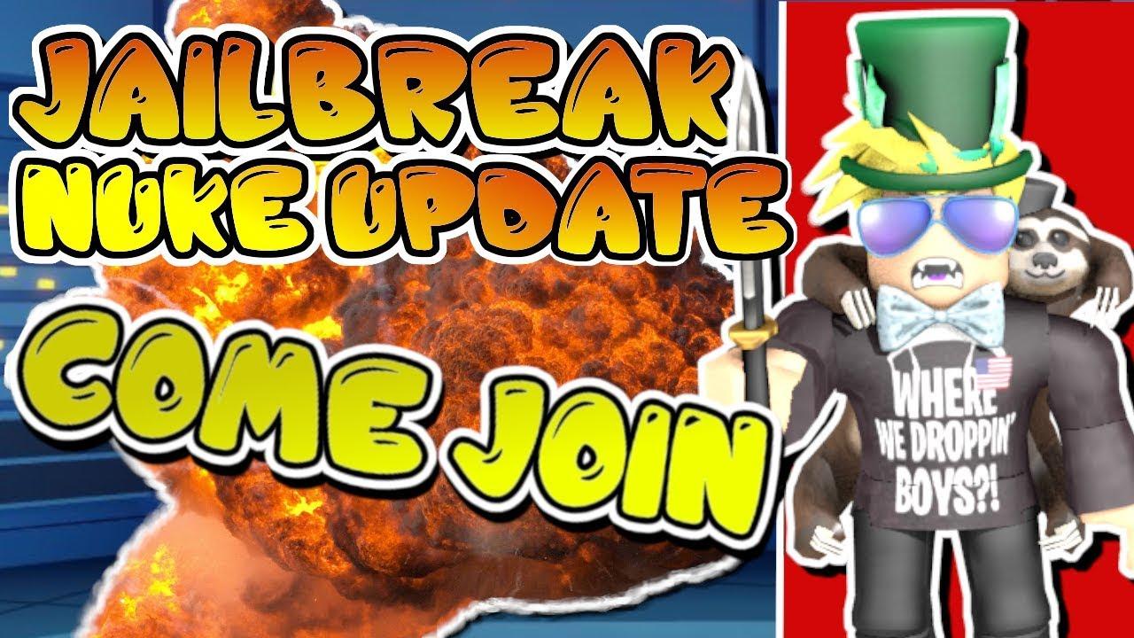 LAUNCHING THE JAILBREAK NUKE! | ROBLOX JAILBREAK x PIGGY ...