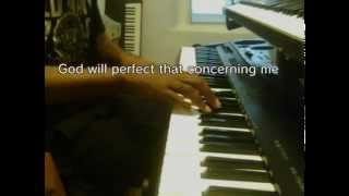 Turning around for me (lyrics) piano Vashawn Mitchell