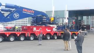 Gambar cover Collett Transport Ltd. 550 ton Girder Bridge