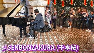 Download lagu I played SENBONZAKURA on piano in public