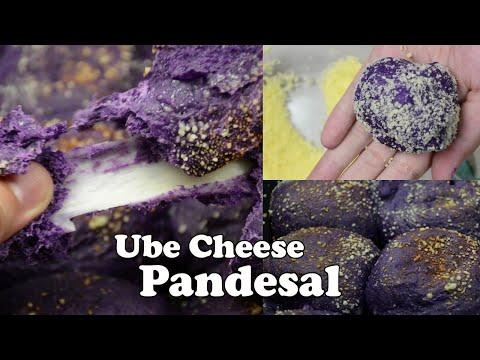 UBE CHEESE PANDESAL   Trending Ube Pandesal