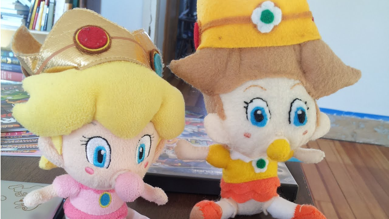 Baby Daisy A Diy Super Mario Plush Sewing Project Youtube