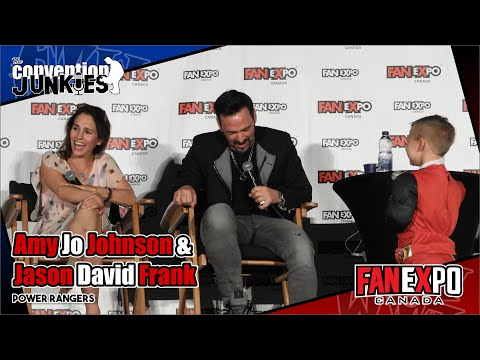 Power Rangers' Jason David Frank & Amy Jo Johnson  Expo Canada 2018