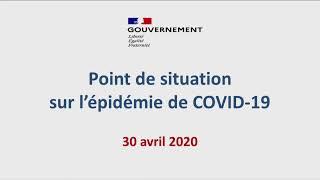 COVID-19 | Conférence de presse, 01 mai 2020, par le Directeur général de la santé | Gouvernement