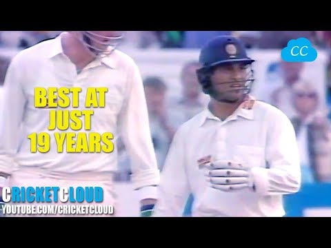 Thumbnail: SACHIN Just 19 Years of Age on FIRE - Super Aggressive 100 !! RARE VIDEO
