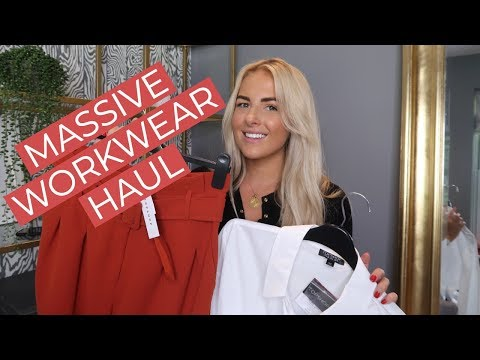 MASSIVE WORKWEAR HAUL AND TRY ON