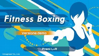 Fitness Boxing (switch) First Look At Demo On Nintendo Switch   Gameplay Ita