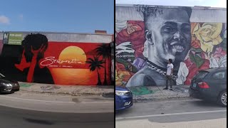 XXXTentacions Skins Painting In Wynwood Walls Removed..