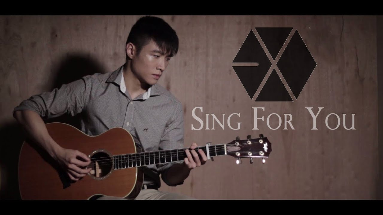 Guitar Cover Exo Sing For You Chords Chordify