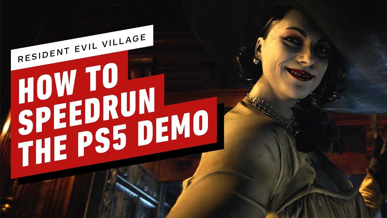 Resident Evil Village: How to Speedrun the PS5 Demo in 4 Minutes - IGN