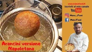Ricetta  Arancini o Arancine Manu Food