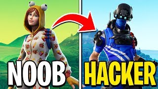 from NABBO to HACKER - The evolution of FORTNITE players