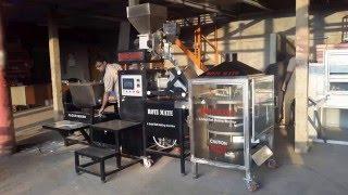 A Fully Automatic New Smart Roti Making Machine Test Run