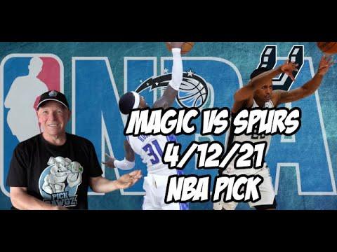 Orlando Magic vs San Antonio Spurs 4/12/21 Free NBA Pick and Prediction NBA Betting Tips