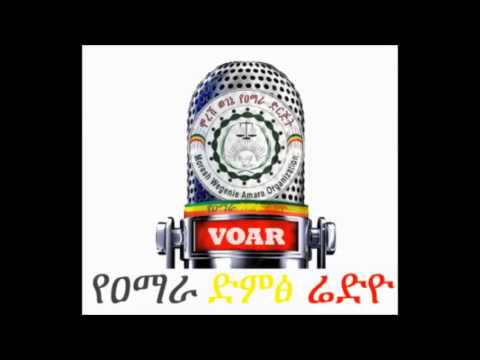 Restey Mebratu on Amhara Voice of Radio talking about the current political crisis of Ethiopia