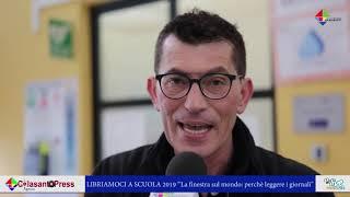 """#Libriamoci2019, all'Istituto """"Colasanto"""" si fa scuola di giornalismo"""