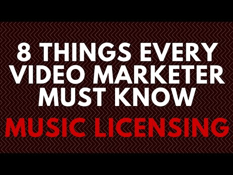 8 Things Every Video Marketer Must Know About Music Licensing - Download Free Infographic
