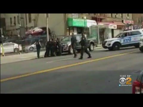 Cop Shot, Suspect Dead In Washington Heights