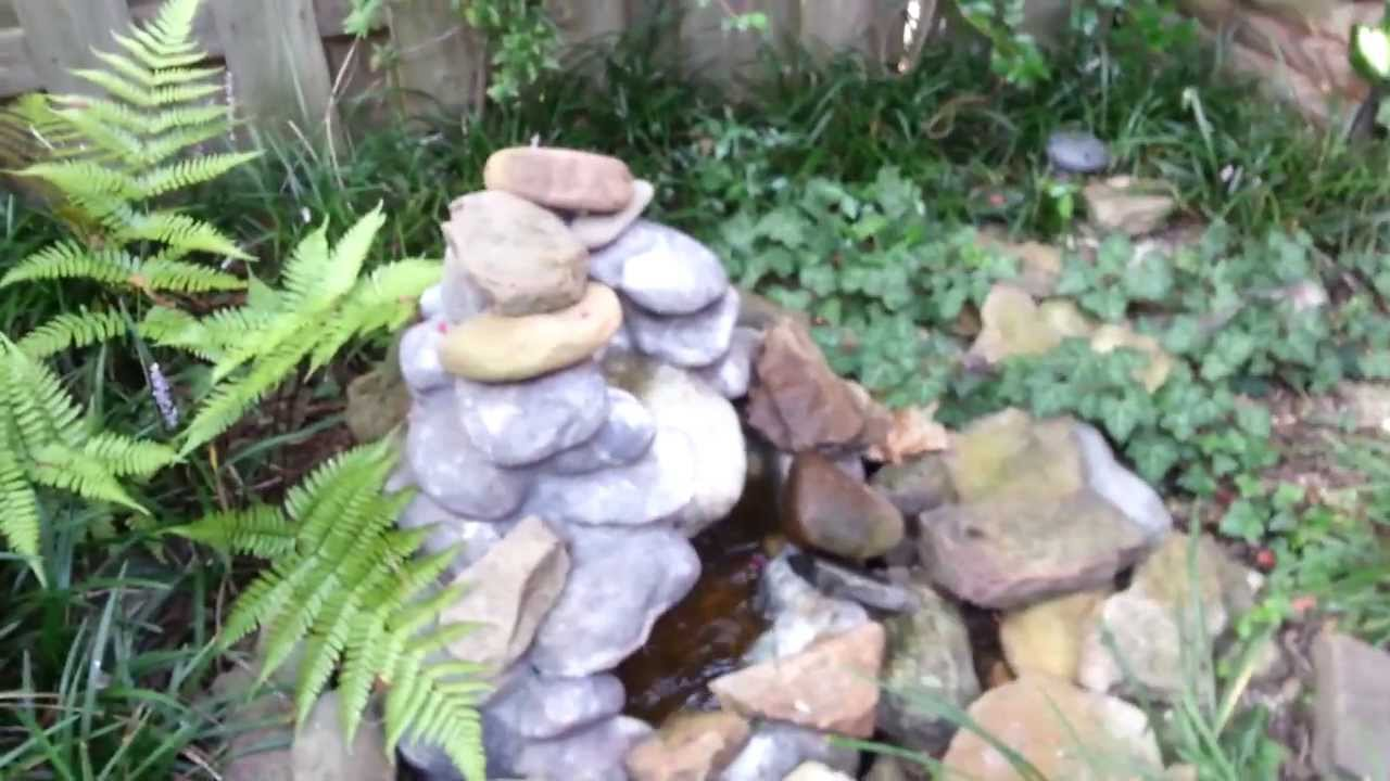 Fountain Pump And River Rocks For Sale Youtube