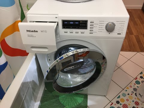 Miele WT1 Waschtrockner (Washer Dryer) WTF 130 WPM - Baumwolle (Cottons)   90 °C -  Full Cycle