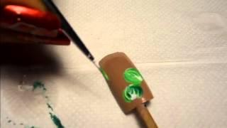 Nail art - Bouton de fleur Thumbnail