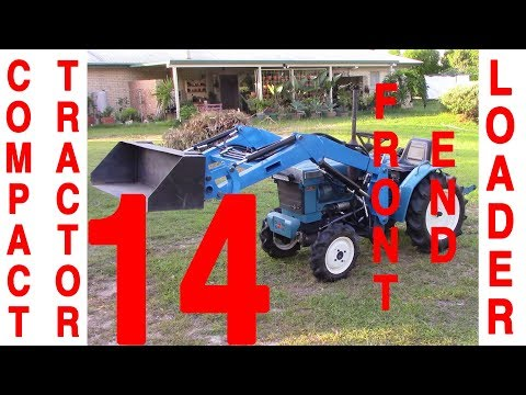 Compact Tractor Front End Loader - 14 of 18