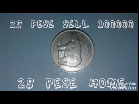 25 Pese Old Coins Prices 100000