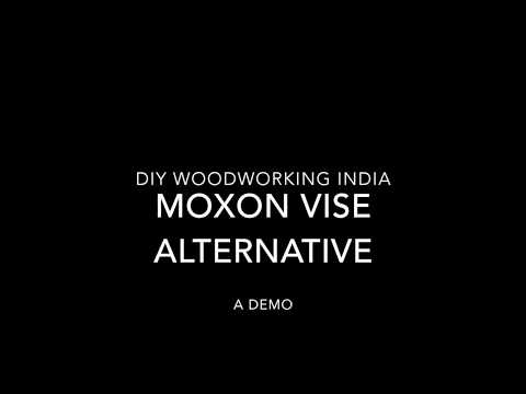 DIY Moxon vise alternative | DIY woodworking INDIA | How to build a quick rise