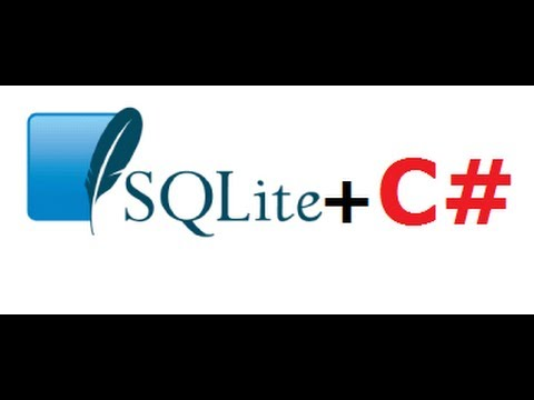 C# Tutorial 36: How to use and connect Sqlite in a C# project