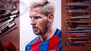 Drawing Lionel Messi | drawholic