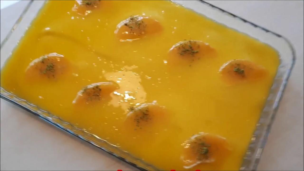 Portakal Pelteli Muhallebi