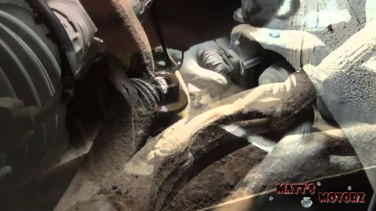 Lower ball joint and control arm replacement part 1 1998 chrysler cirrus youtube