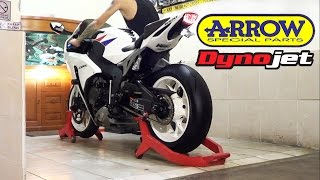 For Sale.. MOGE Honda CBR 1000 RR 2012 HRC SOUND!! Exhaust ARROW Titanium Full System (istimewa)
