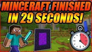 [TAS] Credits Warp [Minecraft] (00:00:29.53)