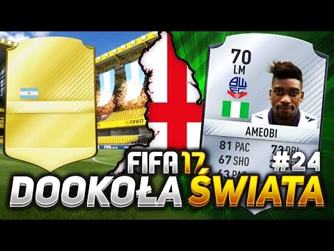 FIFA 17 - Mój najlepszy walkout! - PT -  Football League 1 - Dookoła Świata #24