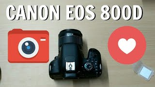 Best Cheap DLSR Camera To Buy In 2019 -  Canon 800D Review & Unboxing