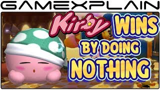 Kirby Wins by Doing Absolutely Nothing - Kirby Star Allies Demo (King Dedede)