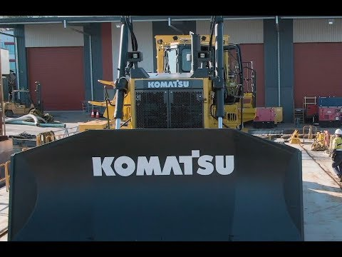 Komatsu's D375Ai-8 Intelligent Machine Control (iMC) Dozer