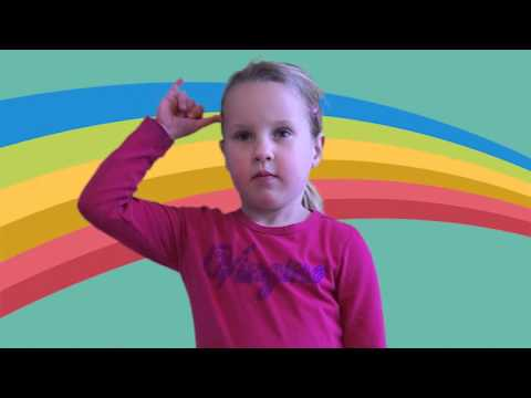 Cow in Sign Language, ASL Dictionary for kids