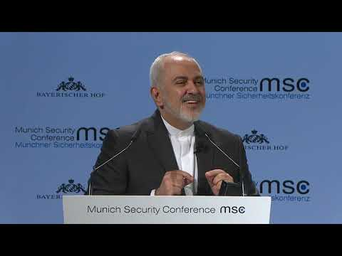 Iran's Zarif grabs #MSC2019 spotlight, slams Trump and Israel (Munich Security Conference)