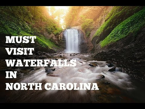 Must Visit Waterfalls in North Carolina (Asheville, Pisgah Forest)